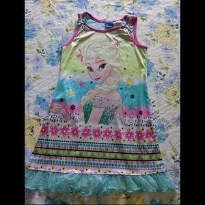 Elsa Frozen nightgown 6/6x